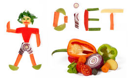 Dieta Imagens de Stock Royalty Free