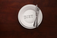 Dieta Imagem de Stock Royalty Free