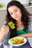 Dieta aborrecida Foto de Stock Royalty Free