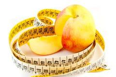 Dieta alternativa con la mela Fotografia Stock Libera da Diritti