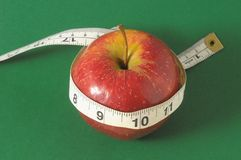 Dieta Apple Fotografie Stock Libere da Diritti