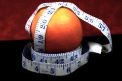 Dieta arancione Fotografie Stock