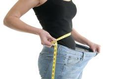 Dieta bem sucedida Foto de Stock Royalty Free