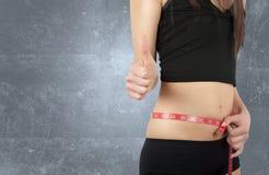 Dieta bem sucedida Fotos de Stock