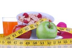 Dieta ciężaru straty karmowy śniadaniowy pojęcie Obraz Royalty Free