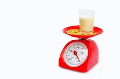 Dieta con leche de soja Fotografía de archivo
