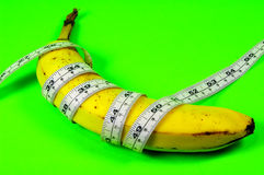 Dieta da banana Imagens de Stock