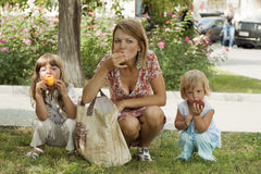 Dieta da fruta Imagens de Stock Royalty Free