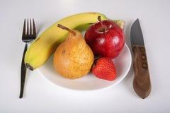 Dieta da fruta Imagem de Stock Royalty Free