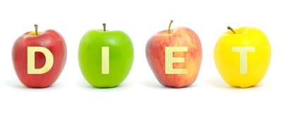 Dieta de Apple Fotografia de Stock Royalty Free