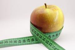 Dieta de Apple Imagem de Stock