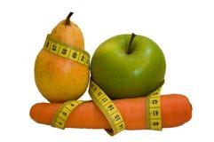 Dieta de la fruta Imagen de archivo libre de regalías