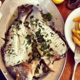 Dieta dei frutti di mare Immagine Stock