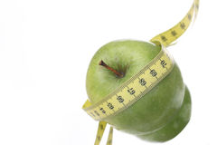 Dieta del Apple immagine stock