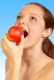 Dieta del Apple. fotografia stock