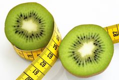 Dieta del Kiwi Immagini Stock