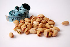 Dieta del pistacchio fotografie stock libere da diritti