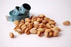Dieta del pistacho Fotos de archivo libres de regalías