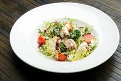 Dieta dell'insalata Fotografia Stock Libera da Diritti