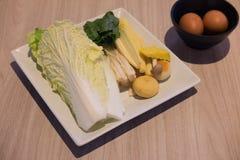 Dieta di alimenti sana eccellente di verdura fresca fotografie stock