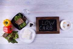 Dieta di Atkins Fotografia Stock