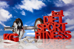 Dieta di sport Fotografia Stock Libera da Diritti