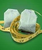 Dieta do chá verde Imagem de Stock