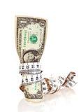 Dieta do dinheiro Imagem de Stock Royalty Free