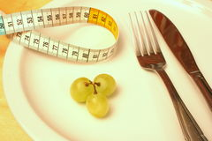 Dieta dura Fotografia Stock Libera da Diritti
