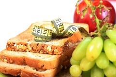 Dieta e aptidão Imagens de Stock Royalty Free