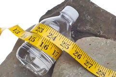 Dieta e forma fisica Fotografia Stock Libera da Diritti