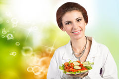 Dieta e nutrição Fotos de Stock Royalty Free