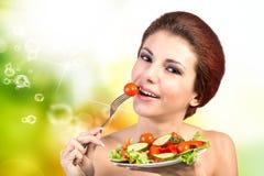 Dieta e nutrição Imagem de Stock