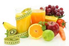 Dieta e nutrição Imagens de Stock