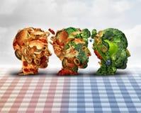 Dieta em mudança ilustração do vetor