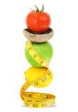 Dieta equilibrada Imagens de Stock