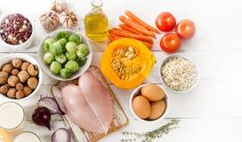 Dieta equilibrata Fotografia Stock