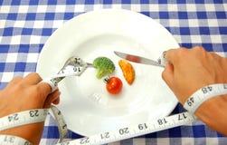 Dieta estrita Imagens de Stock Royalty Free