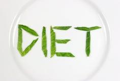 Dieta extrema Imagen de archivo libre de regalías