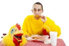dieta fast food Obrazy Stock