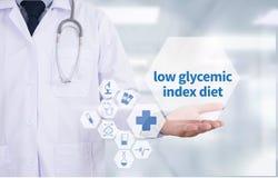 dieta glycemic bassa di indice fotografia stock