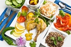dieta gość restauracji Obrazy Royalty Free