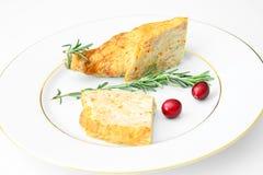 Dieta i Zdrowy jedzenie: Faszerujący kurczak z Obraz Stock