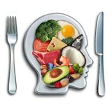 Dieta Ketogenic del cheto illustrazione di stock
