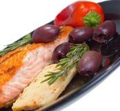 Dieta mediterránea omega-3. Foto de archivo