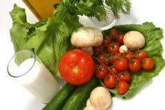 Dieta mediterrânea Fotografia de Stock Royalty Free