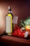 Dieta mediterranea Fotografie Stock Libere da Diritti