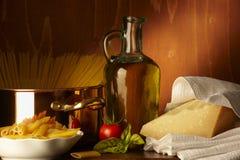 Dieta mediterranea Lizenzfreies Stockbild