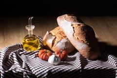 Dieta Mediterranea della prima colazione fotografie stock
