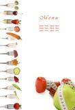 dieta menu Zdjęcia Royalty Free